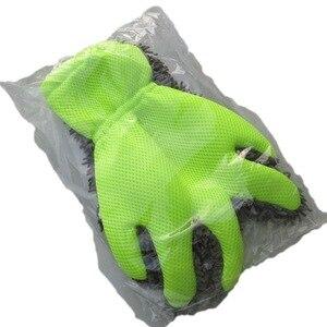 Image 3 - Găng Tay Rửa Xe Len Mịn Viền Ngón Tay Găng Tay Sợi Nhỏ Rửa Xe Găng Tay Vệ Sinh Mitt Giặt Bàn Chải Vải Xe Dụng Cụ Vệ Sinh Làm Sạch