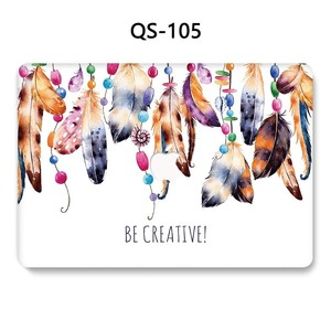 Image 2 - For Notebook MacBook New Laptop Case Sleeve For MacBook Air Pro Retina 11 12 13.3 15.4 Inch With Screen Protector Keyboard Cove