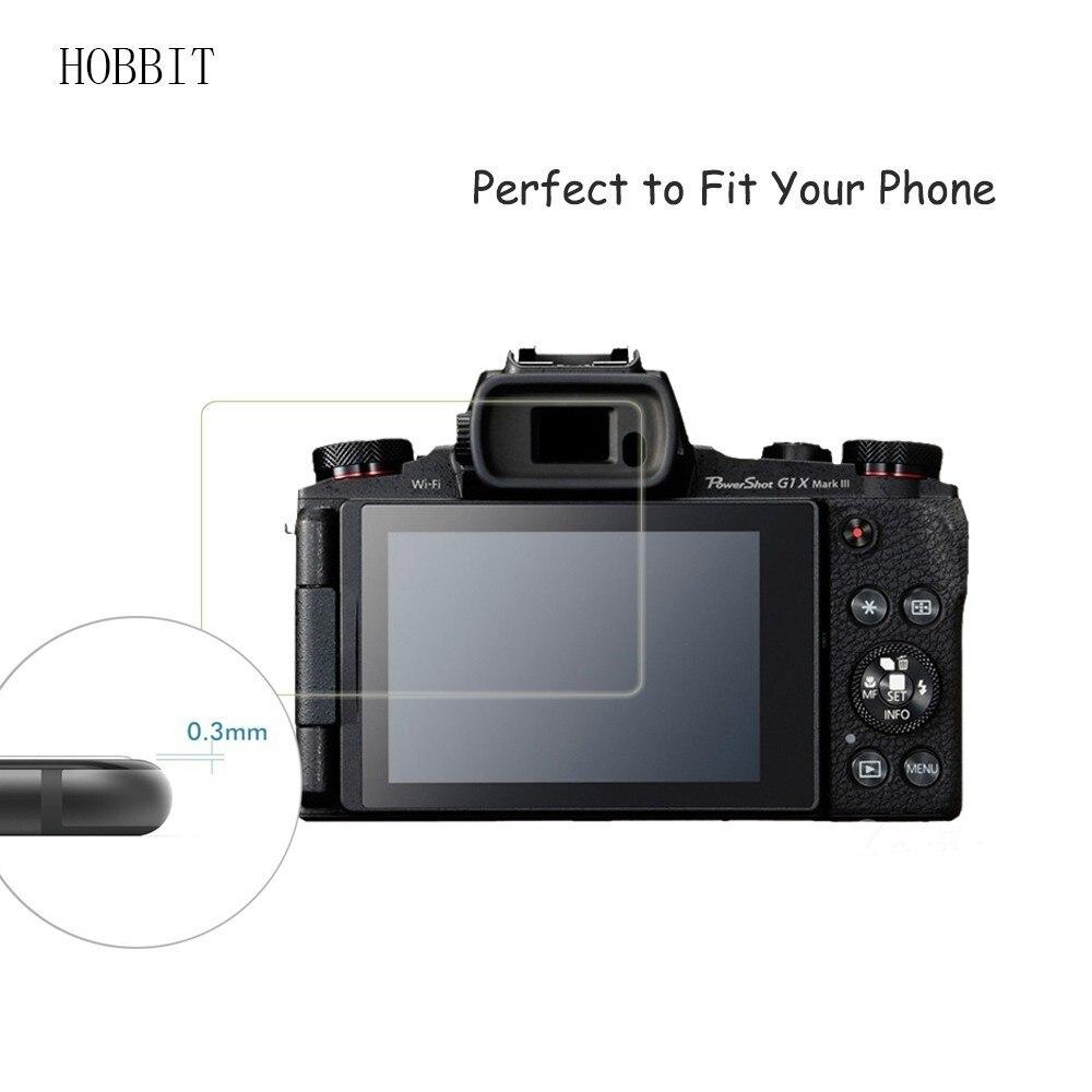 Protector de pantalla Lámina para Canon PowerShot g3 x resistente a los arañazos antikratz claro