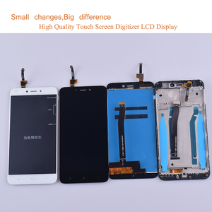 Image 2 - 10 Teile/los Für Xiaomi REDMI 4X LCD Display Touchscreen Digitizer Sensor Pantalla monitor Redmi 4x LCD Montage Mit Rahmen