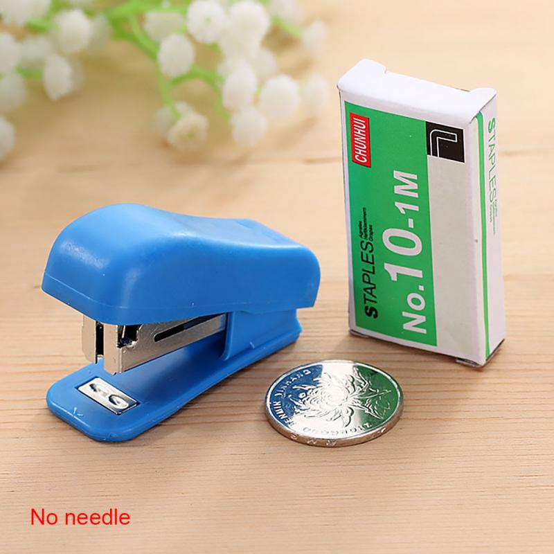 1PC Small Useful Mini Stapler Staples Set Office Binding Stationery For Machine Office Binding Supplies Student Gift