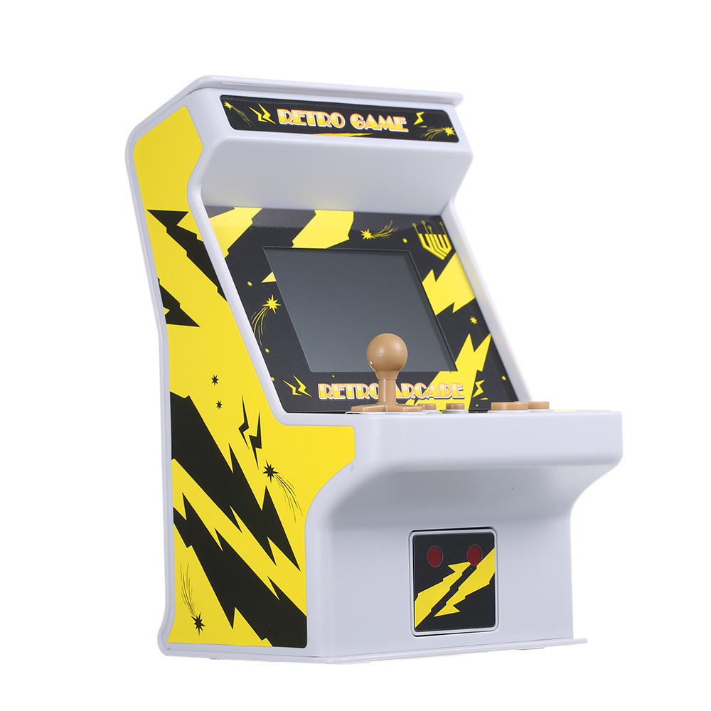 Mini Game Console Battery Powered 256 in 1 Retro Arcade Game 8-bit Handheld Video Gaming Console with Gamepad Controller Console