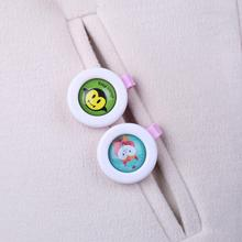Baby Repellent Buckle Child Pregnant Adult Anti-Mosquito Pest Bug Button Portable Cartoon Mosquito Killer Random Color
