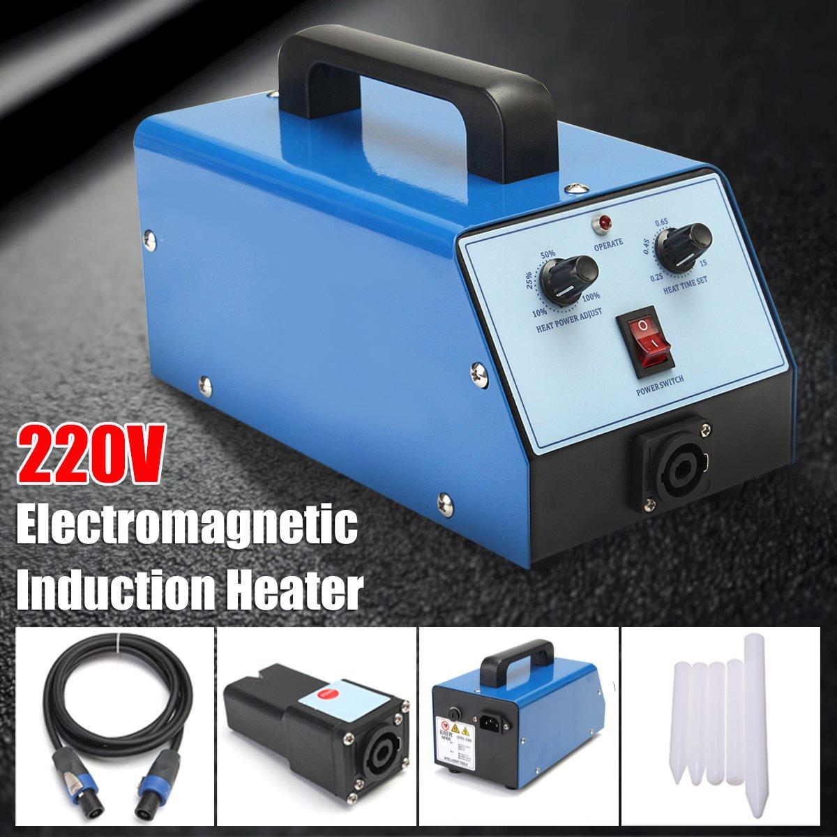 220 В 1100 Вт синий автомобиль Paintless Дент Ремонт Remover PDR индукционный нагреватель Hot-Box электромагнитный индукционный нагреватель для ремонта ин...