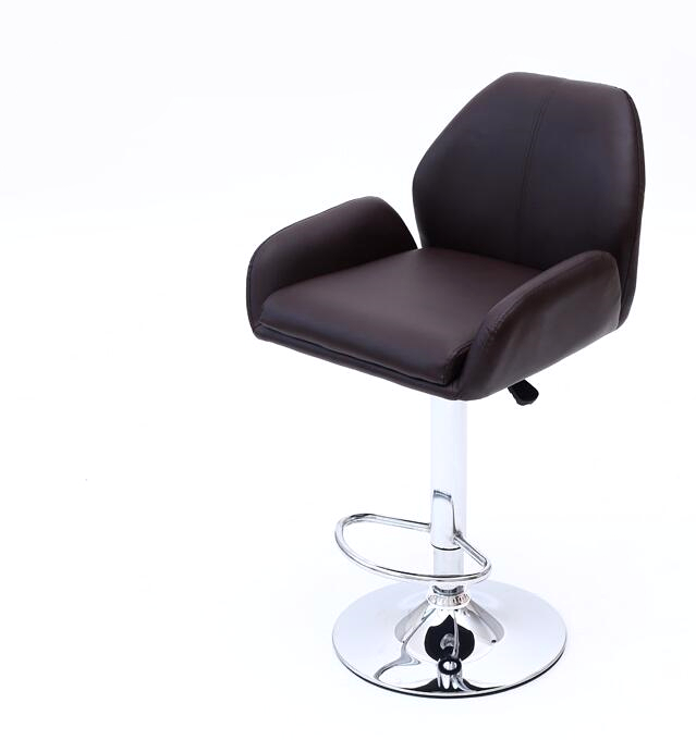 Купить с кэшбэком Lifting rotary high foot bar chair casual thickening bar PU leather chair