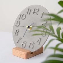 Roman Digital Clock Mould Crystal Epoxy Cement Silicone Clock Mold