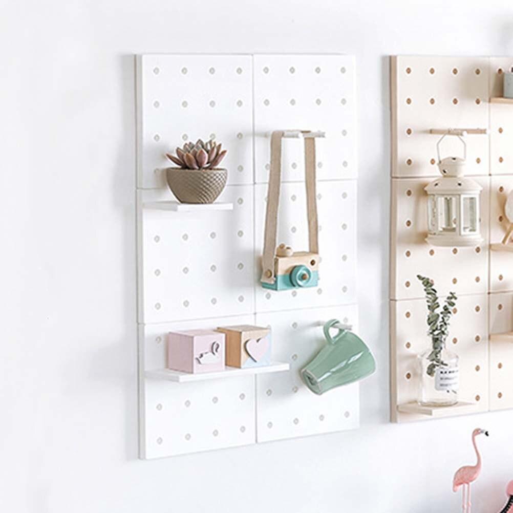 1 Pc Lagerung Rack Kreative Punch-freies Loch Platte Wand Montiert Wand Dekor Für Wohnzimmer Hause Schlafzimmer Belebende Durchblutung Und Schmerzen Stoppen Badezimmer Regale
