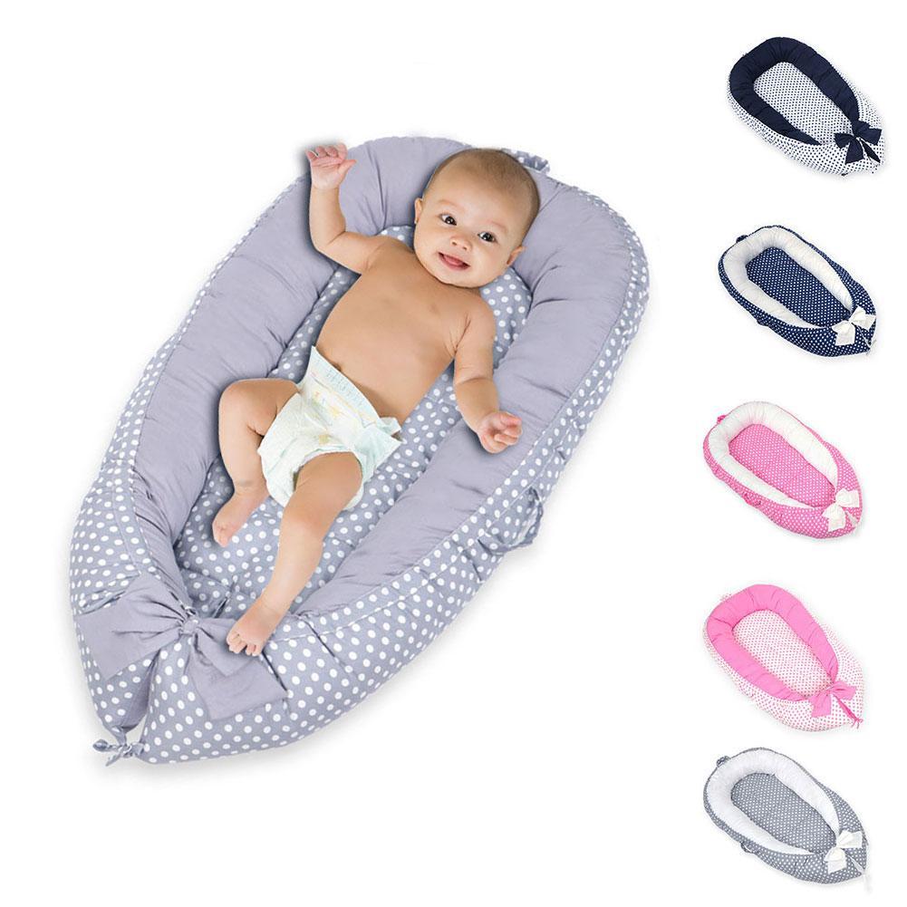 Lit de lit de bébé Portable amovible et lavable lit de voyage de berceau pour enfants bébé enfants lit de coton