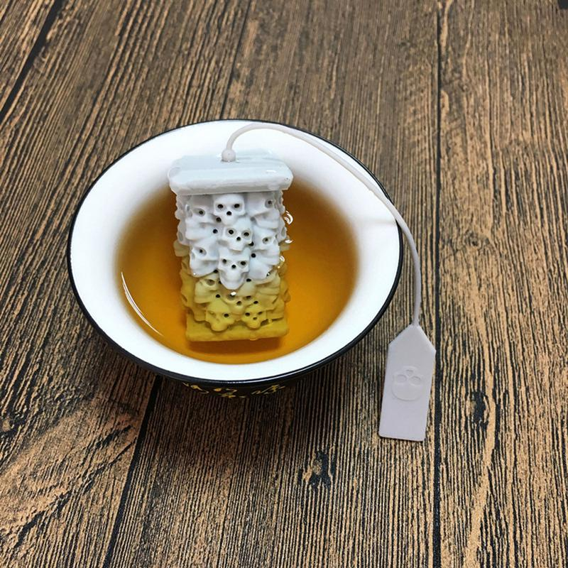 1PC Creative Funny Shape Tea Strainer Silicone Tea Infuser Loose Tea Bag Leaf Strainer Herbal Spice Filter Diffuser