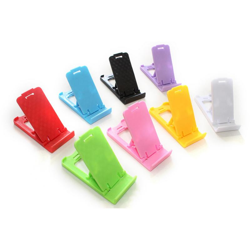 Portable Mini Plastic Foldable Stand Holder For Mobile Phone/Tablet PC