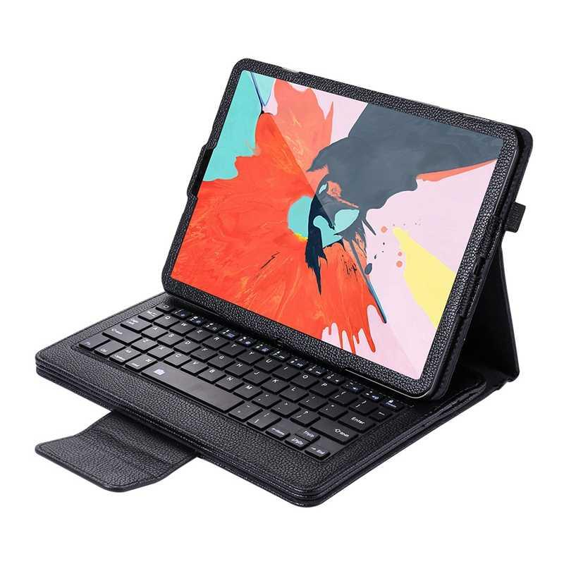 Klavye Ipad kılıfı Pro 11 2018 kapak kılıf ile çıkarılabilir kablosuz klavye ve kalem yuvası montaj Apple Ipad Pro için 1