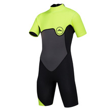 SBART 2MM Neoprene Childrens Wetsuit Half Sleeve Sunscreen Surf dive Thickening Conjoined Warm Swimsuit Snorkeling diving suit