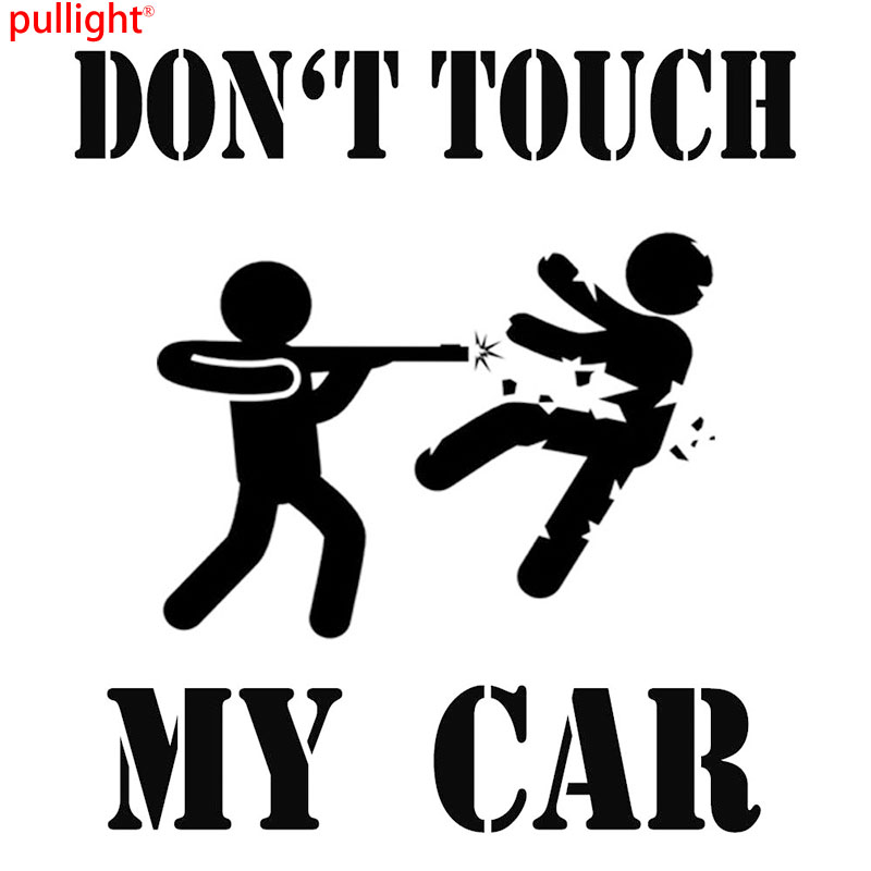 Us 27 40 Offdont Touch My Car Auto Aufkleber Sticker Folie Finger Weg Motorsport Tuning In Car Stickers From Automobiles Motorcycles On
