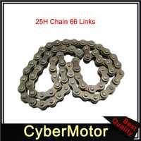 25H 66 Links Engine Starter Motor Chain For Z190 Zongshen 190cc Pit Dirt Bike ZS1P62YML-2