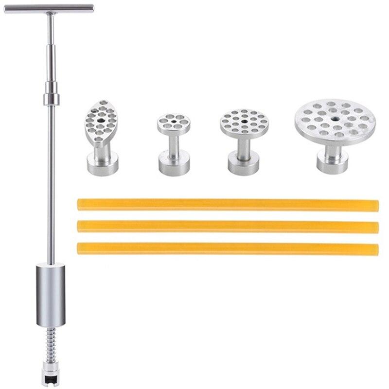 Voiture Carrosserie Dent Paintless De Réparation T Bar Glisser Marteau Colle Puller Tabs (Alliage D'aluminium)