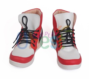 Image 2 - Miles Morales Shoes Cosplay Ultimate Spider Man Mens Boots