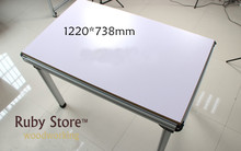 Aluminium Multifunctional Table  Construction (MDF table top not included) W-new 1220*738mm, Assembly Table, Router Table