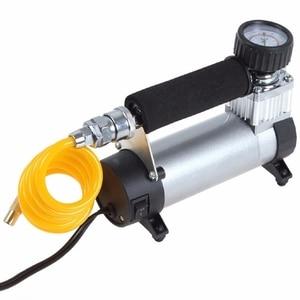 Image 2 - 100PSI 12V Portable Car Electric Tire Air Pump Compressor Inflator Mini Air Compressor Air Inflator Pump 1set