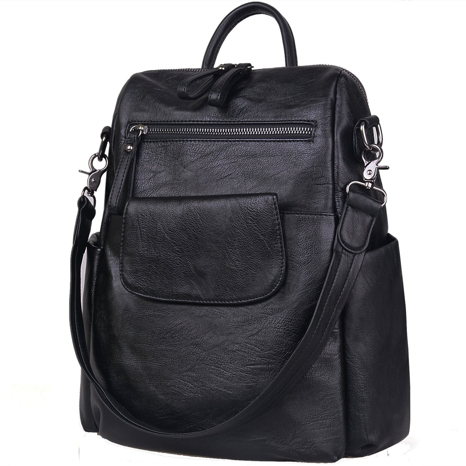 TFTP-Soft PU Leather Backpack  for Women Satchel Shoulder BagTFTP-Soft PU Leather Backpack  for Women Satchel Shoulder Bag