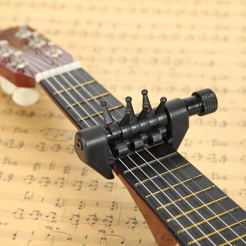 US $6 8 31% OFF|Multifunction 6 Chord Capo Open Tuning Spider Chords for  Acoustic Guitar Strings 2019 Drop Shipping Functional Guitar Capo-in Guitar