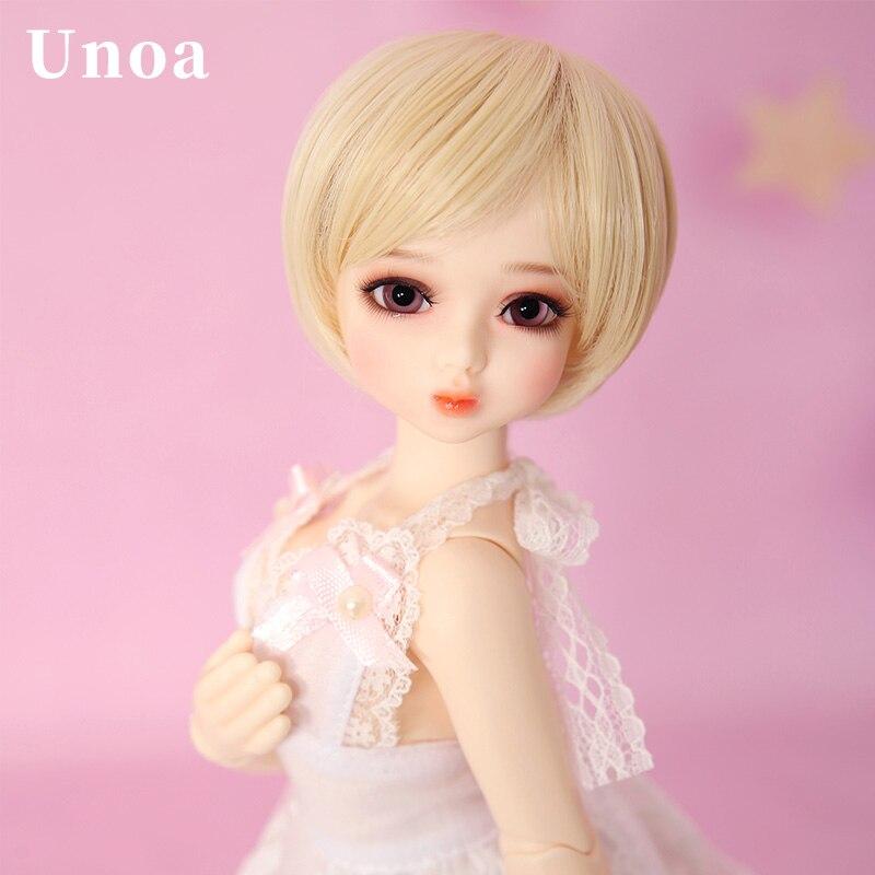 New Arrival Unoa Chibi Lilin BJD SD Doll 1 6 Body Model Children Faceplates High Quality