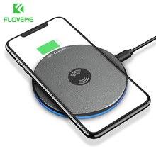 FLOVEME Qi Беспроводной Зарядное устройство для iPhone XR XS X 8 плюс 5 W Беспроводной зарядного устройства для samsung S10 S9 примечание 9 cargador Inalámbrico