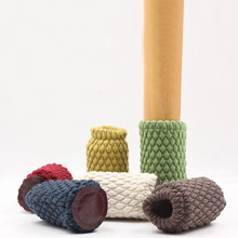 4 шт./компл. стол Вязание однотонные носки для мебели утепленные уменьшить Шум надежный пол с защитой от скольжения для ножек стула