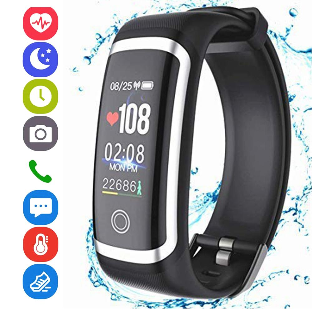 0 96 inch Heart Rate Monitor Waterproof Sports Smart Bracelet Fitness Tracker Heart Rate Monitor Waterproof Sports in Smart Wristbands from Consumer Electronics