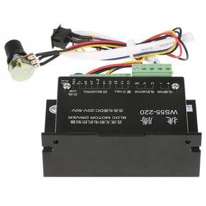 Image 3 - WS55 220 controlador do motorista do motor dc 48v 500w cnc sem escova do eixo bldc controlador do motorista do motor com cabo