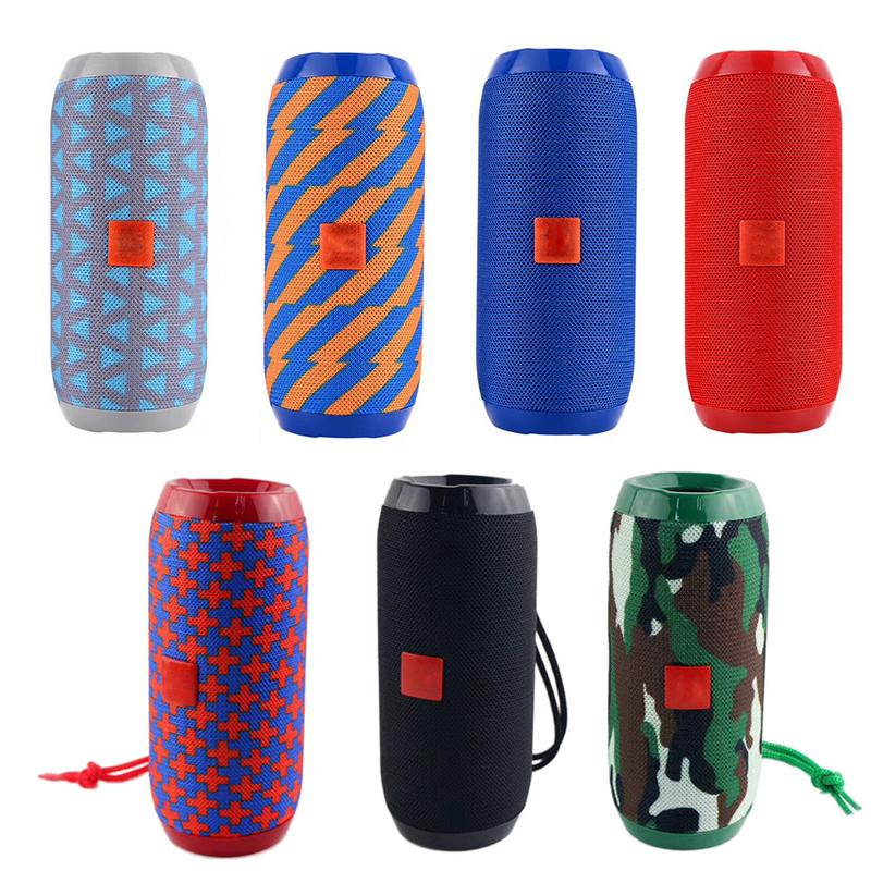 Image 2 - Rondaful Wireless Speaker For TG117 Outdoor Portable Fabric Waterproof Bluetooth Speakers Support FM Radio TF Card Playback 2019-in Portable Speakers from Consumer Electronics