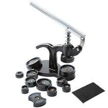 14Pcs Watch Press Set,18Mm To 50Mm Watch Case Closer,Watch Repair Kit (Black)