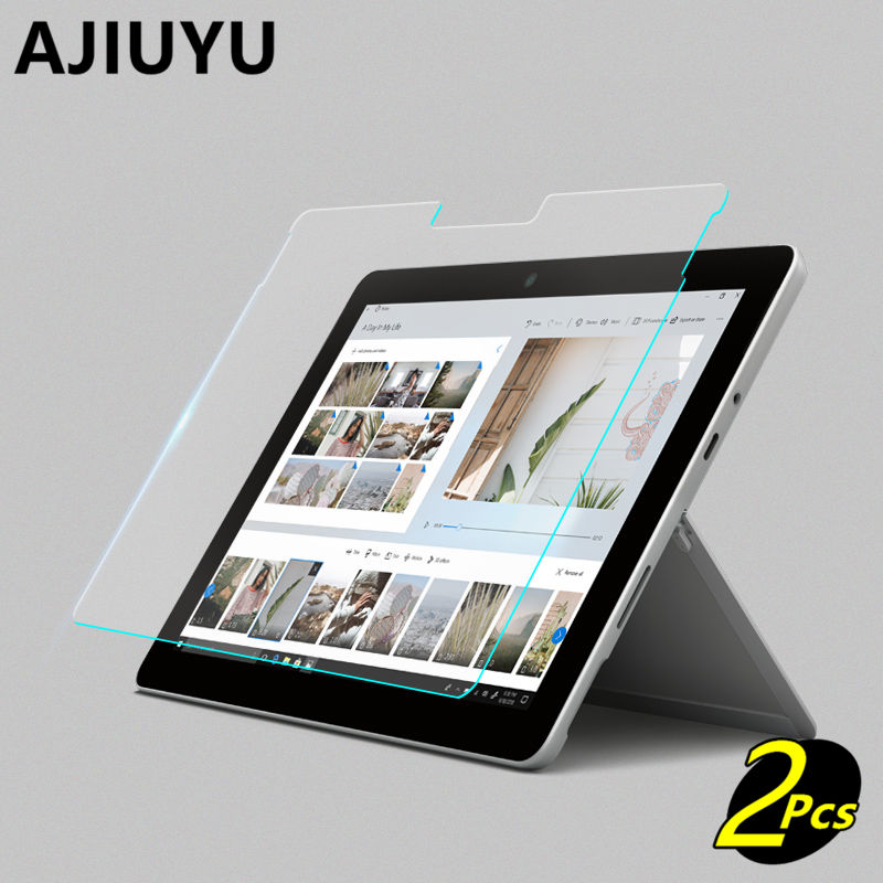 "2x gard Tempered Glass Screen Protector for Microsoft Surface Go 10/"" tablet"