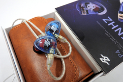 AUDBOS P4 In Ear Earphone 4BA Drive Unit 4 Balanced Armature HIFI Music In Ear Monitoring Earphones With Detachable MMCX Cable