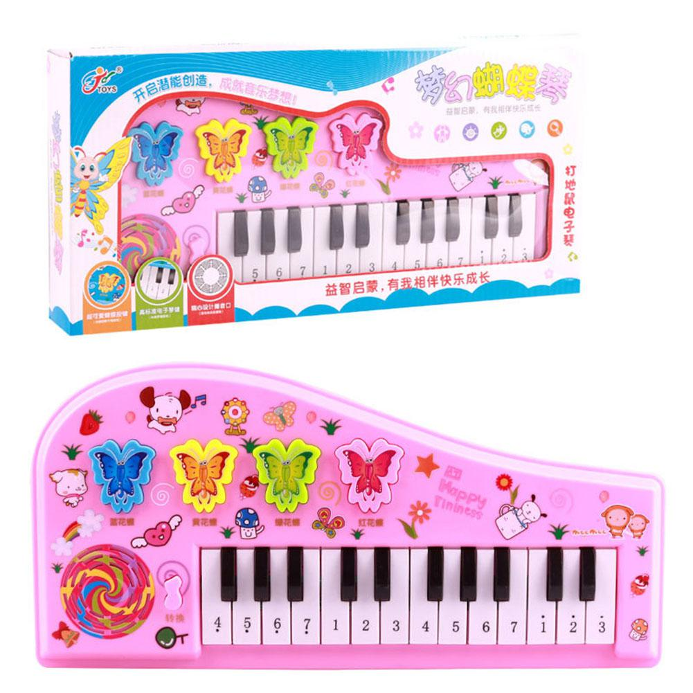 Children Multifunctional Mini Electronic Piano Portable Digital Music Toy Early Learning Educational Toys For Kids Puzzle Gifts
