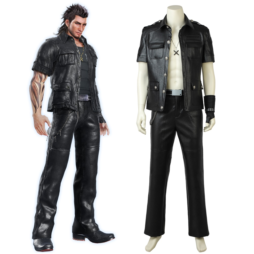 Final Fantasy XV FF15 Gladiolus Amicitia Cosplay Costume