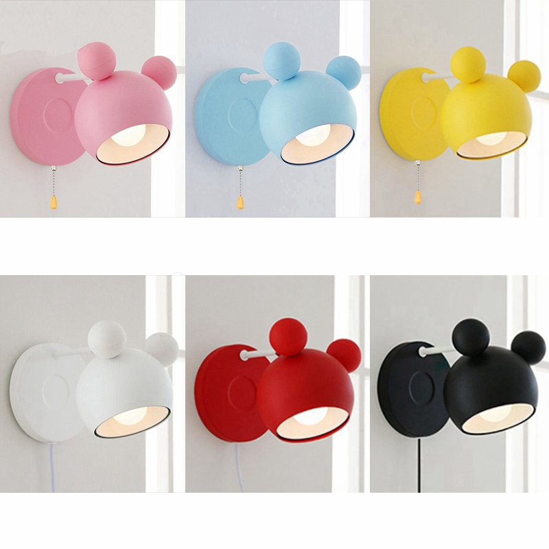 Wall Lamps Kids Rooms: Children Cartoon Kindergarten LED Wall Lamps Wall Lights