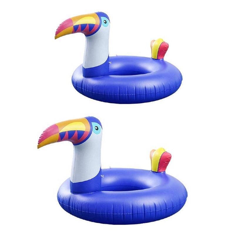 Parent-child Swimming Ring Inflatable Armpit Kids Swim Pool Floating Circle Kids Baby Float Swim Pool