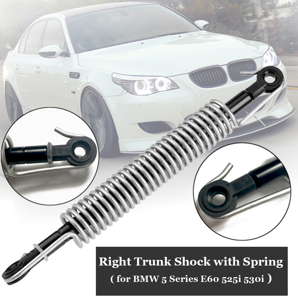 Right Trunk Shock With Spring For BMW E60 525i 525xi 530i 535xi M5 #51247141490