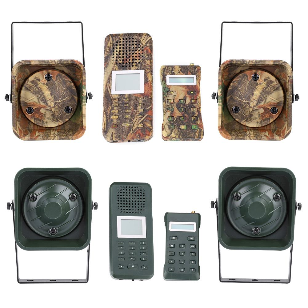 Hunting Decoy Double 50W Speakers Duck Call Mp3 Sounds Hunting Bird Caller Loud Speakers Mp3 Player