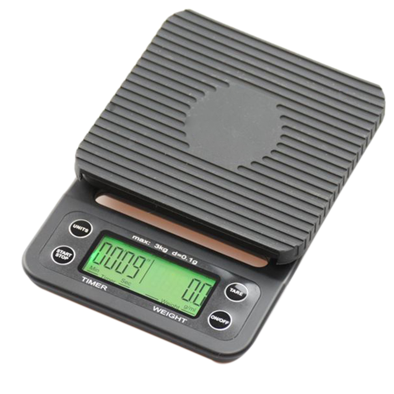 Hot Sale Coffee Digital Scale Kitchen Household Weigh Rushed Direct Limited 0.1g With Timer