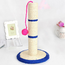 Кошачья Когтеточка с шариком (игрушка), кошачья Когтеточка, сизалевое дерево, защитная мебель для кошек, игрушки для игр, случайный цвет