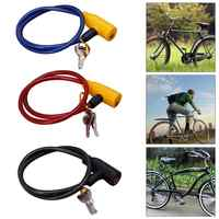 Metal Bicycle Safety Lock Universal Anti-Theft Bicycle Lock Bike Motorcycle Electric Vehicle Safety Lock With 2 Keys Bike Parts