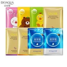 Bioaqua Face Mask Hyaluronic Acid Snail Lemon Plant Extracts Moisturizing Whitening Depth Replenishment Korean Skin Care Mask