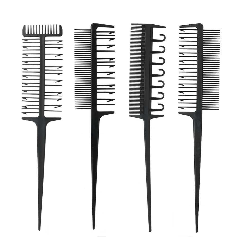 Профессиональная парикмахерская расческа Комплект окраски волос умирает Выделите салон парикмахера инструменты