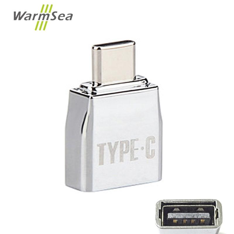 OTG USB 3.1 Type C Hub Adapter Male USB-C To Female USB 2.0 Micro USB For Macbook Pro Type-c Interface Use