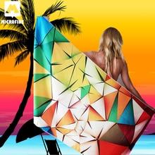 Microfine Microfiber Beach Towel Large Gym Sport Swimming Pool Women 70x140 Big Yoga Mat Fashion Summer Surf Robe Blanket