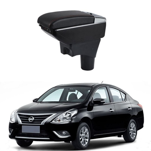 Upgraded Auto Parts Interior Decoration Modified Styling Accessories Arm Rest Car-styling Car Armrests FOR Nissan Sunny