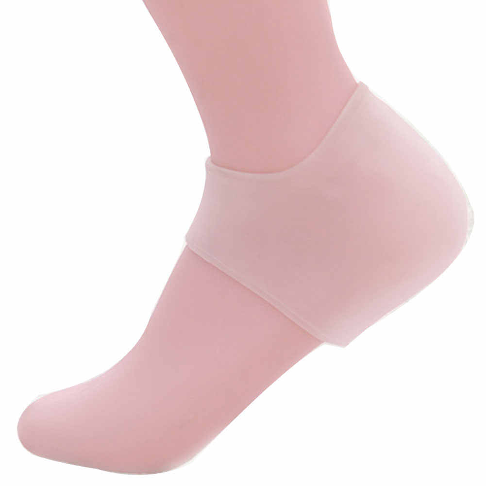 Soft Silicone Foot Skin Care Protector Heel Socks Prevent Dry Skin Against Peeling Washable Moisturizing Gel Foot Protector #15