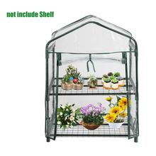 PVC2 Tier Home Plant Greenhouse Garden Cover Plants Flowers Mini Without Iron Frame