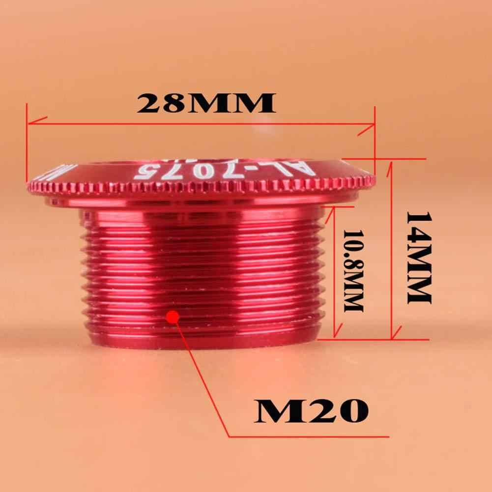 Зубная пластинка крышка кривошипная винтовая крышка M20 M15 M18MTB шатун для велосипеда алюминиевая крышка bmxроуд велосипедный фитинг запчасти для велосипеда аксессуары инструменты